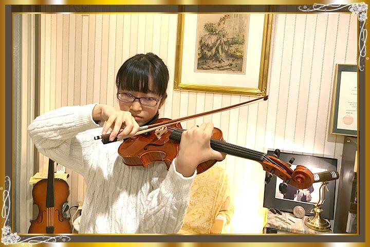 東京目黒バイオリン教室生徒さんご紹介08