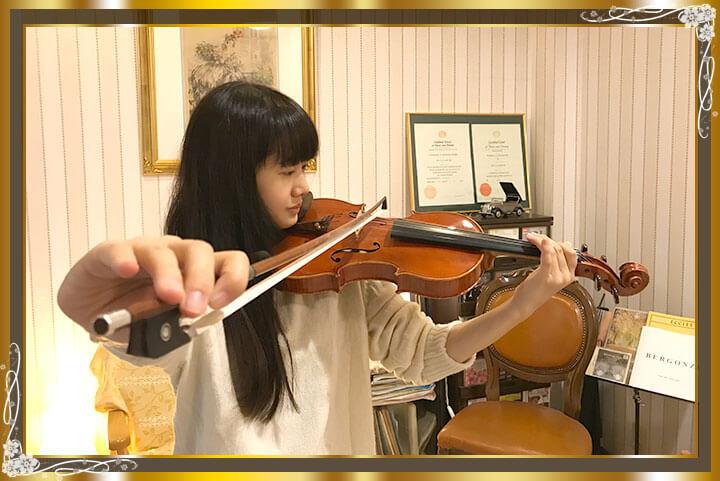 東京目黒バイオリン教室生徒さんご紹介11
