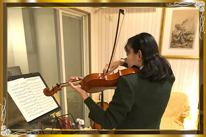 東京目黒バイオリン教室生徒さんご紹介12