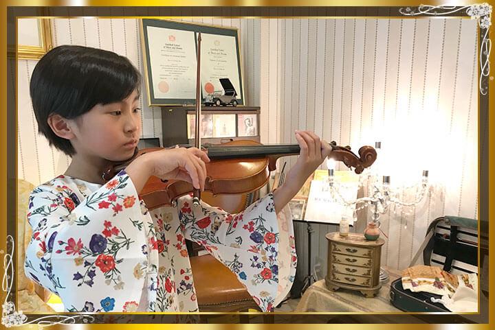 東京目黒バイオリン教室生徒さんご紹介14