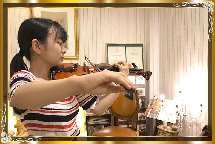 東京目黒バイオリン教室生徒さんご紹介15