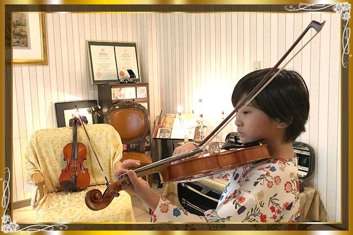 東京目黒バイオリン教室生徒さんご紹介16
