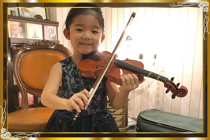 東京目黒バイオリン教室生徒さんご紹介25