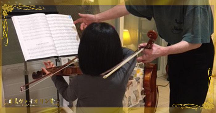 幼児の子供さんのお受験とバイオリンレッスン